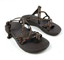 Chaco Womens Size 7 Z/X2 Strappy Sport Sandals Flat Shoes Brown