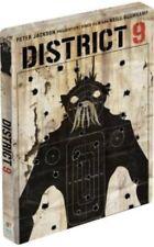DISTRICT 9 (Regie: Neill Blomkamp) Blu-ray Disc, Steelbook