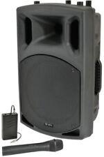 """QX15AV Active Speaker With VHF 15"""" 250w"""