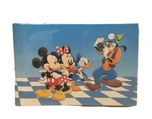 Vintage Disney Mickey Mouse and Friends Photo Album Character Collection 1989