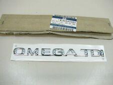 ORIGINAL OPEL Omega B OMEGA TDI Schriftzug 90543383 NEU