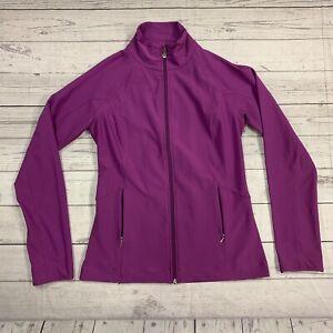 Womens Lucy Full Zip Purple Jacket Size Small