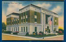 Tyler Texas tx US Post Office linen postcard 1951