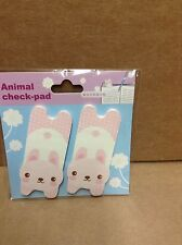 Kitten sticky notes/index markers  2 pads 60 sheets BNIP HTF