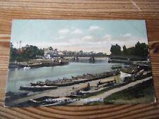 SURREY MOLESEY Edwardian River Thames bridge MISCH & CO   CAMERA  GRAPHS 632|4