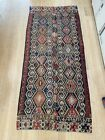 """Antique Konya kilim,10'2"""" X 6'3"""", woven in two panels, natural dyes, clean"""