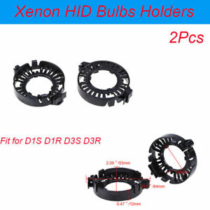 2x Adapter Holders Socket Base Retainer Clip for D1S D1R D3S D3R HID Xenon Bulbs
