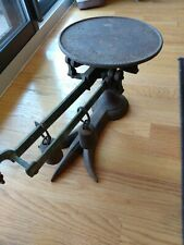 Antique Cast Iron Scale, Crow Foot