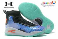 NEW Men's Under Armour Curry 4 TRAINING Basketball Shoes (17 Colors)