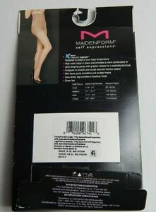 Maidenform Self Expressions Sexy Shaping Curve Enhancer Toning Body Shaper Small