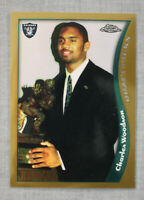 Charles Woodson RC Michigan Oakland Raiders 1998 Topps Chrome Rookie  #44  Mint