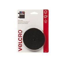 """VELCRO Brand  - Sticky Back  - 5' x 3/4"""" Tape - Black 5 Feet"""