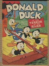 Donald Duck Four Color #108 - Terror of the River! - 1942 (Grade 6.0/6.5) WH