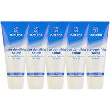 5 PCS Weleda Salt Toothpaste 75ml x5= 375ml Refresh Teeth Mouth Cleanser #8578_5
