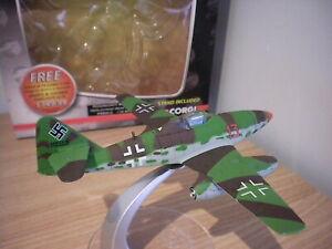 CORGI WARBIRD SERIES 1:114 WB996013 MESSERSCHMITT ME 262A -1A HEINZ BAR 1945