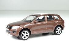VW Volkswagen Touareg marrone scala 1:43 GIALLO von RMZ