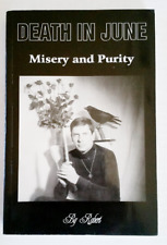 DEATH IN JUNE Misery And Purity Book Ultra Rare Softcover Douglas P. GOTH