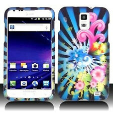 For AT&T Samsung Skyrocket Galaxy S II 2 HARD Case Snap Phone Cover Flower Blast