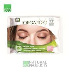 Organyc Organic Cotton Facial Wipes 20 Pieces