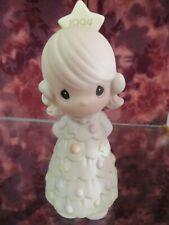 "Precious Moments-#530425 ""You'Re As Pretty As A Christmas Tree""1994 Figurine-Nib"