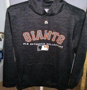Men's    GIANTS  MLB   Pullover  Hoodie  Jacket   Medium   NEW