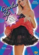 BLACK PETTICOAT/CRINOLINE UNDERSKIRT, FANCY DRESS COSTUME