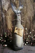 PATTERN~on cd/PRIMITIVE/easter/stump doll rabbit/bunny/dirty hare/spring /pt31