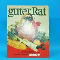 Guter Rat 2-1984 Verlag für die Frau DDR Elasan Klöße Gartenmöbel Sonnenuhr G