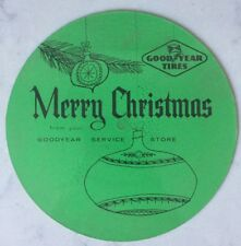 """Bing Crosby -Good Year Tires Promo Flexi 7"""" Compact 33 - How Lovely Is Christmas"""