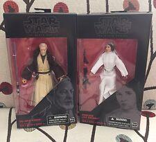 STAR WARS BLACK SERIES 6 Inch - Obi-Wan Kenobi & Princess Leia - CASE FRESH