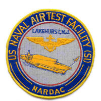 Naval Air Test Facility (SI) Regional Data Automation Command Lakehurst NJ Patch