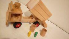 fagus® Müllkipper, Müllauto. Gebraucht, guter Zustand. Holzspielzeug von Fagus.