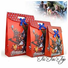 1x Avengers PARTY PAPER LOOT LOLLY GIFT BAG Superhero Ironman Party Supplies