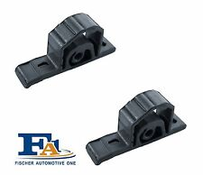 Pair of Rear Exhaust Rubber Hanger Bmw Mini One Cooper Mount Fischer 103­-938