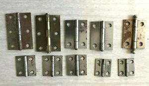 Vintage Stanley Sweetheart and Stanley Hinges Lot of 9