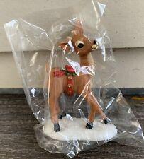Vtg 70s 80s Hallmark Merry Miniatures Reindeer Figure Christmas