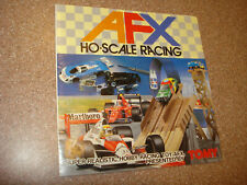 Tomy Aurora AFX JAPANESE  Catalog, VERY RARE NEAR MINT  #2