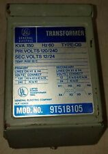 1 USED GENERAL ELECTRIC 9T51B105 TRANSFORMER  0.150 KVA TYPE QB ***MAKE OFFER***