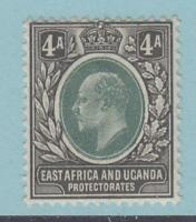 EAST AFRICA AND UGANDA 6 MINT HINGED OG * NO FAULTS EXTRA FINE !