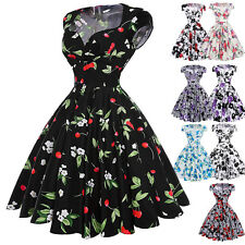 CHEAP Vintage Retro Swing 50's 60's Pinup Housewife Prom Party Dress Clothes New