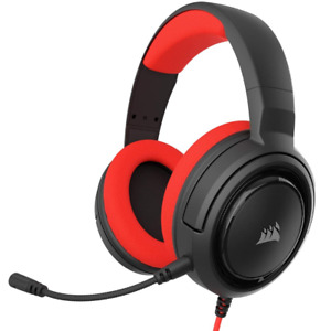 Cuffie Corsair Gaming HS35 Stereo XBOX PC MOBILE Headset Red CA-9011198-EU