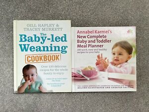 Baby Led Weaning Cookbook Bundle Gill Rapley, Annabel Karmel