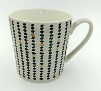Black And Gold Speckled Spotted Contemporary Design Mug