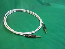 "2 Ft SILVER PLATED 3.55 MM 1/8"" Stereo AUX Auxiliary Cable for iPod MP3 Cable."