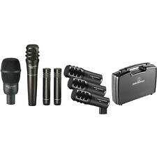 Audio-Technica Pro-Drum7 Drum Mic Pack w/ Kick, Snare, Toms, Overheads & Case