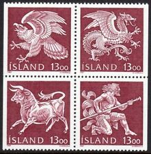 Iceland Block Stamps