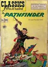 CLASSICS ILLUSTRATED #22 The Pathfinder by James Fenimore Cooper (HRN 85) VG+