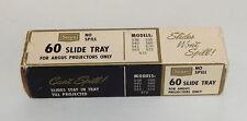 Vintage Sears 60 Capacity 35mm Slide Magazine/Tray w/ Box Spill Proof R10984