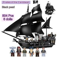 Lego The Black pearl Queen Anne's Revenge Ship Pirates of the Caribbean