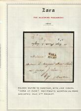 ZARA Zadar Austria Monarchy 1840 Stampless Cover, Mantova Italy Personal Letter